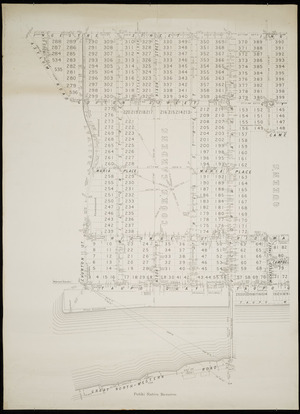Town of Wanganui [cartographic material] : standard survey / J. Annabell, assistant surveyor.