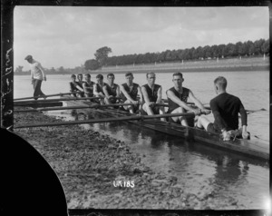 The Codford New Zealand rowing eight