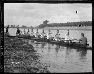 The M T rowing crew, London