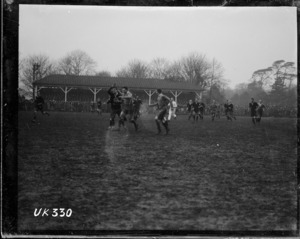 NZEF rugby match in London