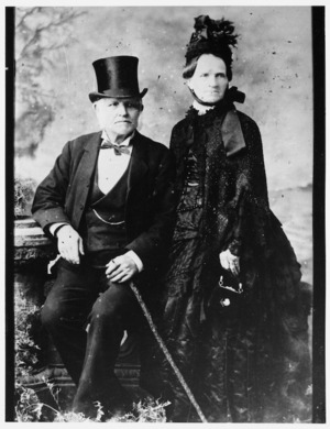 Portrait of Charles and Dinah Clark