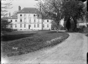 New Zealand Divisional Headquarters at Louvencourt, France, World War I