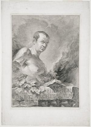 Polanzani, Francesco, 1700-1783 :Jo. Bap. Piranesi Veneti architectus. F. Polanzani faciebat. 1750. Super permissu.