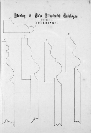 Findlay & Co. :Findlay and Co's illustrated catalogue. Mouldings [models] 5-9. [1874].