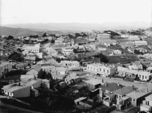 Part 2 of a 3 part panorama of Brooklyn, Wellington