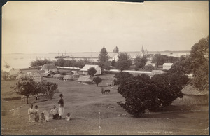 View of Nuku'alofa, Tonga - Photograph taken by George Valentine