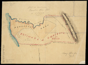 [Creator unknown] :[Sketch plan of Akitio Station showing Sir Donald McLean's purchased land] [ms map]. [186-?]