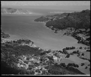Settlement of Huia, Manukau Harbour