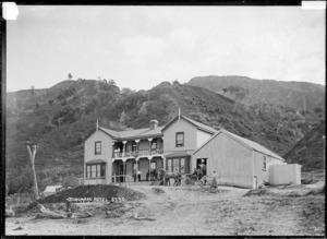 Hotel at Tokomaru Bay, East Coast
