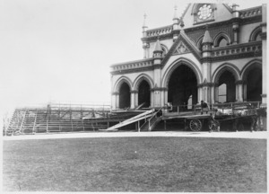 General Assembly Library, Parliament grounds, Wellington