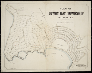 Plan of Lowry Bay township, Wellington, N.Z. [cartographic material] / Geo. A. Beere, surveyor.