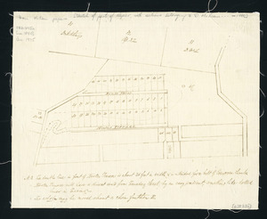 [Creator unknown] :[Sketch of part of Napier, with sections belonging to D McLean ca. 1880] [ms map].