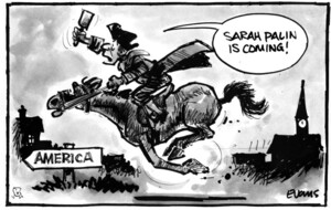 "Evans, Malcolm Paul, 1945- :""Sarah Palin is coming!"" 7 June 2011"