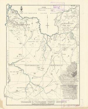 Waimanu & Tongariro Survey Districts [electronic resource].