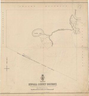 Kopara Survey District [electronic resource] / J.M. Kemp, litho.