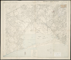 [Composite map of following SD's] [cartographic material] : [79 Leeston, 1890: 80 Hallswell, 1893: 94 Southbridge, 1897 & 95 Ellesmere, 1899].