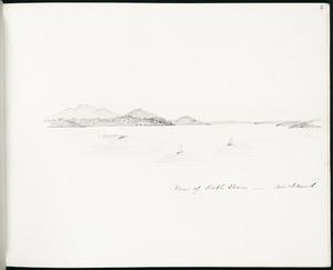 Spratt, Henry Thomas, b 1827 :View of North Shore - Auckland. [1860s?]