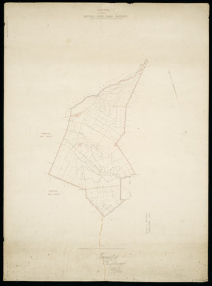 Riccarton [cartographic material] : formerly Central Avon Road District.
