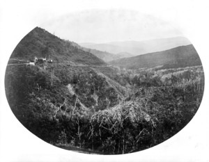 Bragge, James, 1833-1908 :Landscape, Rimutaka Range