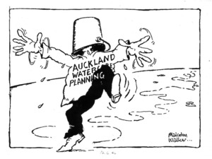 Walker, Malcolm, 1950- :Auckland watercare planning. [10 June 1994].