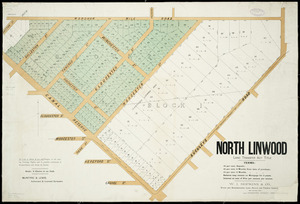 North Linwood [cartographic material] : Land Transfer Act title / McIntyre & Lewis, authorised and licensed surveyors.