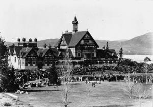 Opening of the Government Sanatorium and Baths, Rotorua