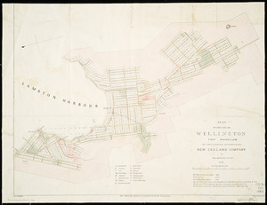 Plan of the city of Wellington, Port Nicholson : the first & principal settlement of the New Zealand Company / by Felton Mathew Esq., 1841 ; J. Arrowsmith, lithog.