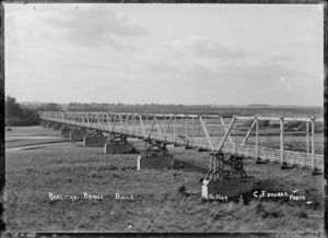 Rangitikei Bridge, Bulls - Photograph taken by C Edwards