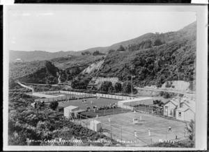 Bowling green at Karangahake