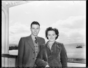 Immigrants arriving in Wellington on the ship Atlantis