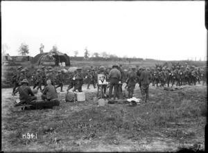 NZ YMCA serving refreshments, World War I, France