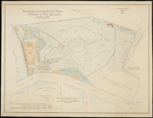 Clark, Johnson, fl 1913 :The Colonial Ammunition Coy's Works. Dominion of New Zealand. Auckland [ms map]. 1913.