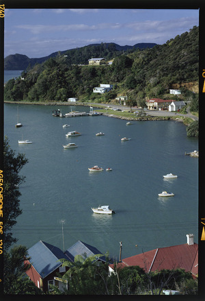 Waterfront and harbour, Whangaroa