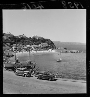 View of Balaena Bay, Wellington