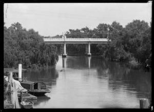 Coulter Bridge over the Waihou River, Te Aroha