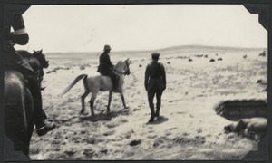 HRH Edward Prince of Wales at Sphinx Post, Egypt