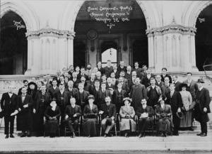 Photograph of the Social Democratic Party's Annual Conference 1914