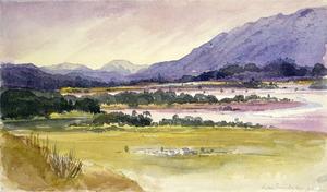 [Fox, William] 1812-1893 :Little Grey Valley Ahaura. On the Grey River nr. Ahaura [1872]