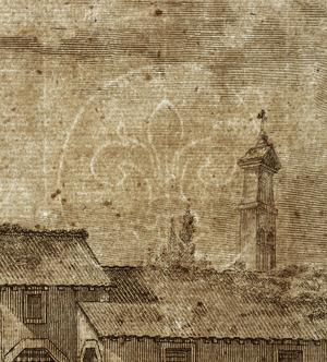 Piranesi, Giovanni Battista, 1720-1778 :Veduta degli avanzi del Tempio della Pace. Piranesi Architetto fec. [1757]