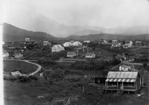 View of Waiuta township looking south