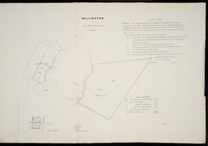 Wellington, Col. McCleverty's Award III, XIV [cartographic material].