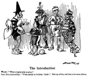 Reid, Stuart, fl 1905 :The introduction. Page 47, Otago Witness. 13 December, 1905