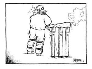 Hubbard, Jim :[New Zealand Cricket. The Dominion 20 January 1995].