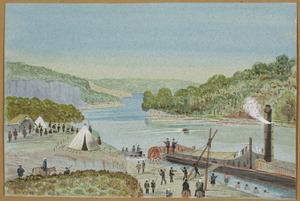 Hamley, Joseph Osbertus 1820-1911 :Pukerimu, Waikato. [April 1864]