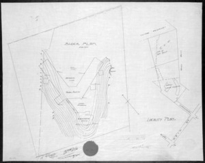 [Crichton & McKay] :Locality plan. [Hospital for Infectious Diseases, Wellington]. [1917]