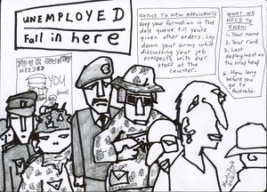 Doyle, Martin, 1956- :Unemployed fall in here. 30 June 2011