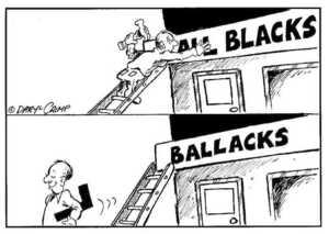 Crimp, Daryl, 1958- :ALL BLACKS. BALLACKS. 18 June, 2002.
