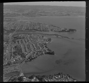 Waitemata Harbour and Westmere, Auckland