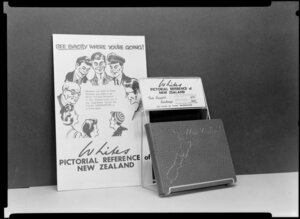 Whites Pictorial Reference of New Zealand promotional display