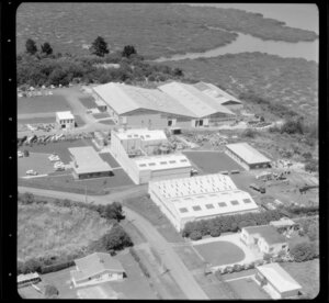 Avondale, Auckland, including factories of AC Hatrick New Zealand Ltd, and Morcom Green and Edwards Ltd